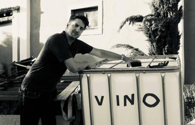 Michael Cooper y su vino