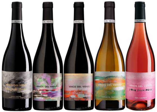 Botellas de Vinos del Viento